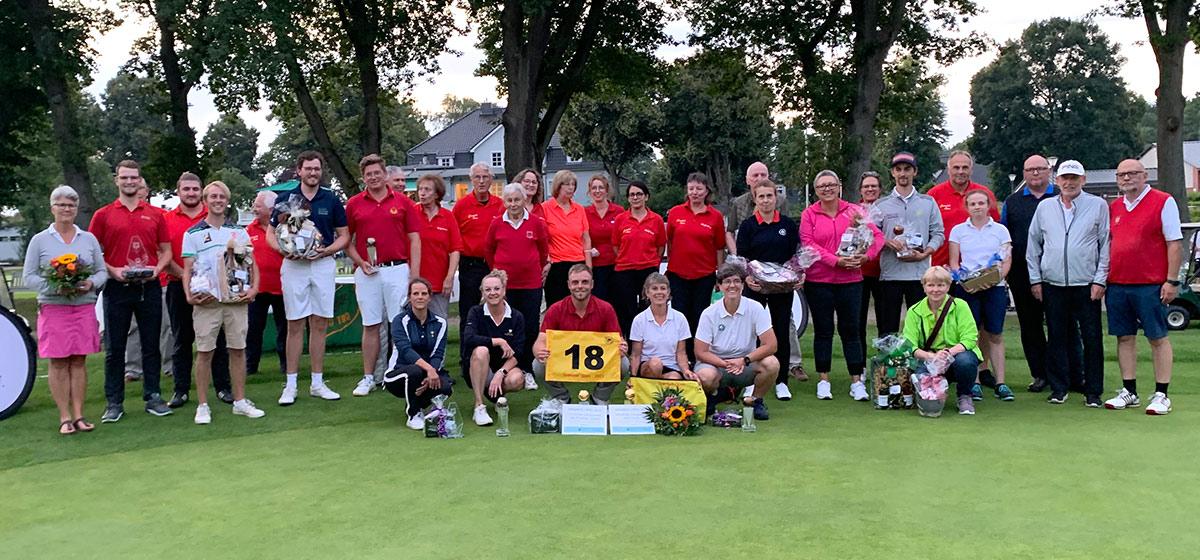 Gewinner, Platzierte und Helfer Grambek Open 2021