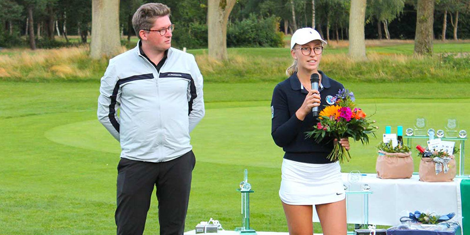 Grambek Open Sieger 2020 - Esther Lympius und Lennart Möller